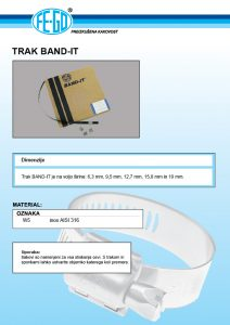 Trak band-it